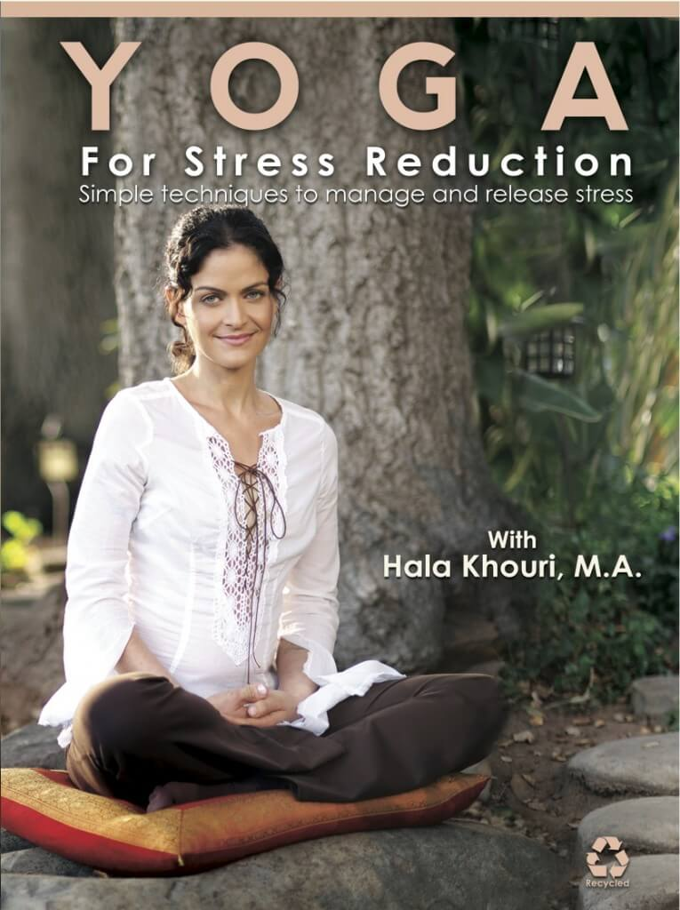 Yoga for Stress Reduction - DVD cover